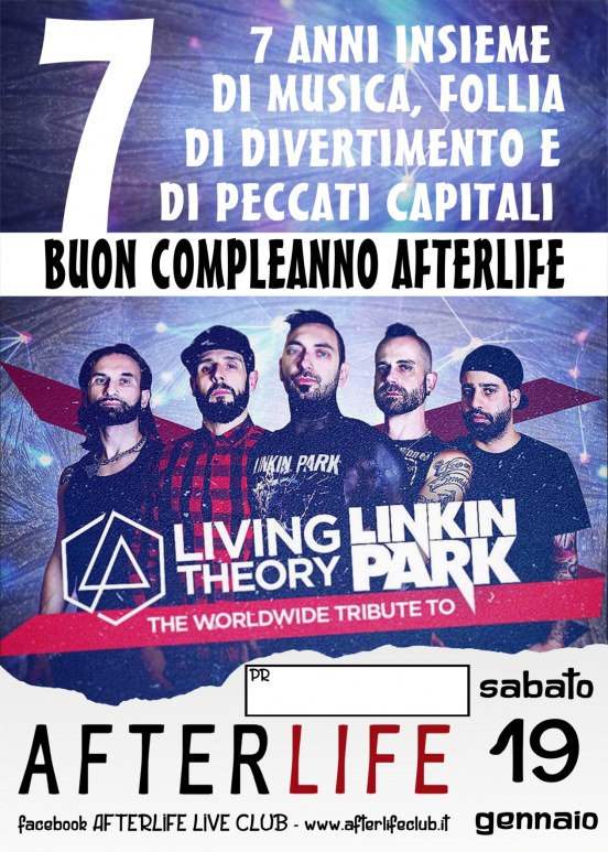 7 anni di Afterlife - Live Living Theory - official european